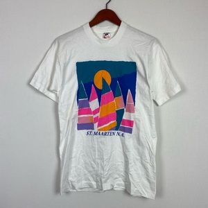 Vintage St. Martin Sailboat T-shirt
